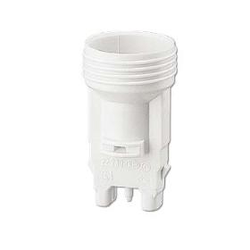 Välkända Lamphållare E14 skruv vit OM-43